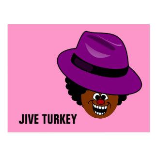 Jive Turquía se rellena por completo de sí mismo Tarjeta Postal