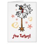 Jive Turquía Tarjetón