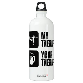 jives my therapy aluminum water bottle