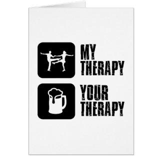 jives my therapy greeting card