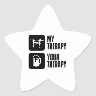 jives my therapy star sticker
