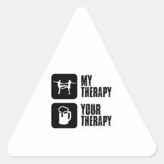 jives my therapy triangle sticker
