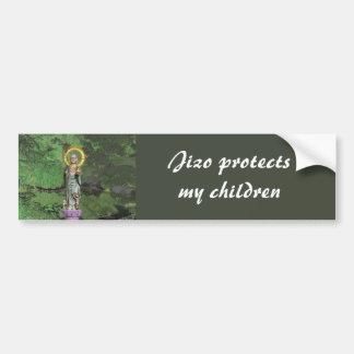 Jizo Bumper Sticker