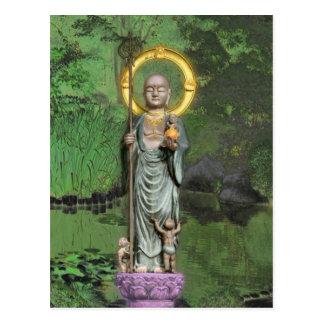 Jizo Post Card