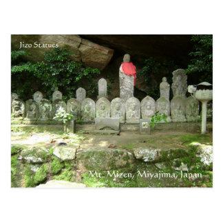 Jizo Statues Postcard