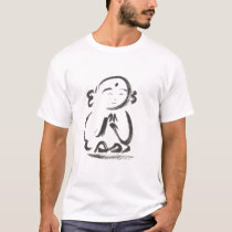 Jizo the Monk Brush Stroke T-Shirt