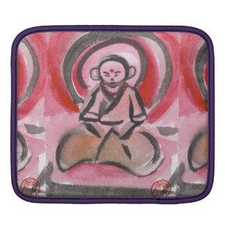 Jizo the Monk Pattern Sleeve iPad Sleeves