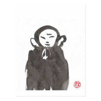 Jizo the Monk Postcard
