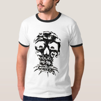 JJ and The Chokers Black ringer T Shirt