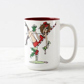 JJ Cheers Two-Tone Coffee Mug