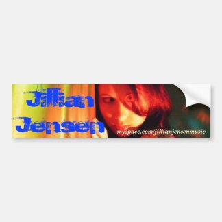 JJ Myspace Bumper Sticker