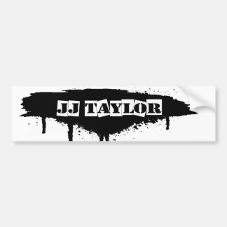 JJ Taylor bumper sticker