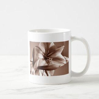 jjhelene Amaryllis in Sepia Tone Classic White Coffee Mug