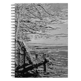 "jjhélène ""Chrome Adirondack"" Custom Photo Notebook"
