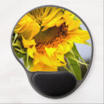 "jjh&#233;l&#232;ne Sunflower design Custom Gel Mouse Pad<br><div class=""desc"">jjh&#233;l&#232;ne Sunflower design Custom Gel Mouse Pad - Brilliant sunshine yellow sunflower keeps this mouse pad front and center for all your computer needs.  Thank you for checking us out,  please share around the world,  and Happy Shopping!!!</div>"
