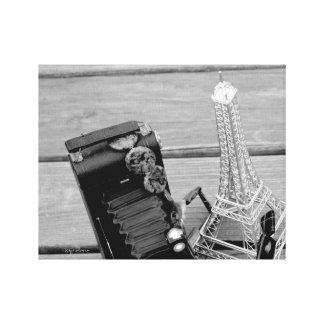 "jjhelene's ""Eiffel Tower"" Premium Wrapped Canvas Print"