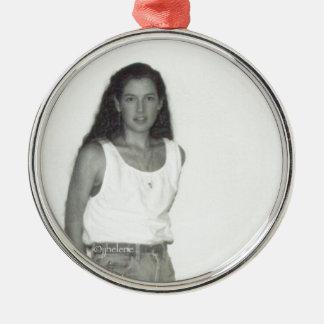 jjhelene's self expression metal ornament
