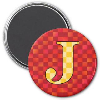 JJJ 3 INCH ROUND MAGNET