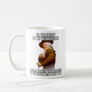 Jjoseph Ducreux Archaic Rap Poppin' Neckpiece Classic White Coffee Mug