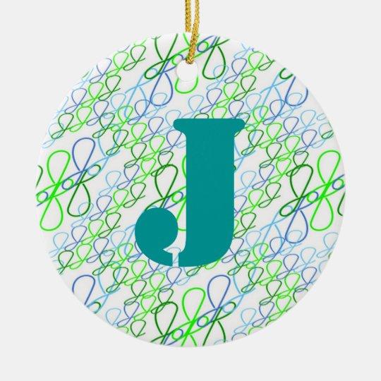 JjParade Springtime Ceramic Ornament