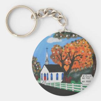 JK Church Keychain
