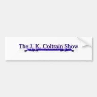 JK Coltrain Bumper Sticker Car Bumper Sticker