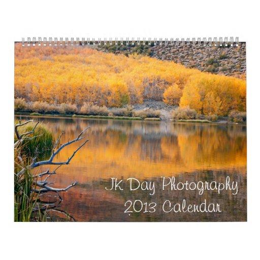 JK Day Photography 2013 Calendar