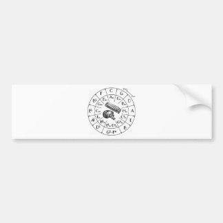 JKD, Jeet Kune Do, martial arts, silat Car Bumper Sticker
