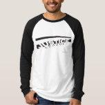 JL B/W Skewed T Shirts