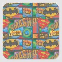 school, stickers, back to school stickers, justice league heroes, batman, dc comics, dc comic books, Sticker with custom graphic design