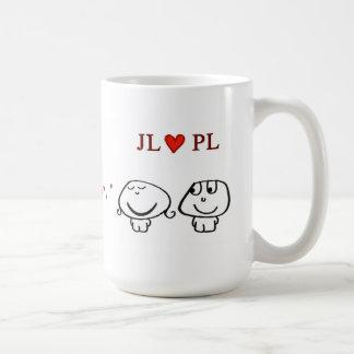 """JL heart PL"" Coffee Mug"