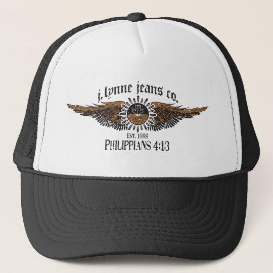 JLA Jeans Hat w/Winged Logo