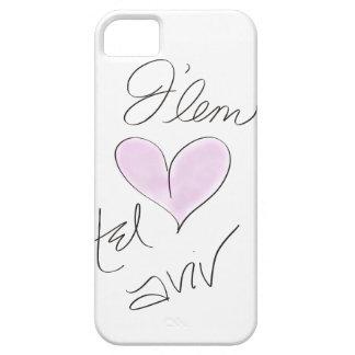 J'lem (Jerusalem) Heart Tel Aviv | Israel Love iPhone SE/5/5s Case