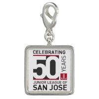 JLSJ 50th Anniversary Commemoraitve Logo Charm