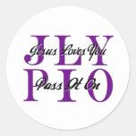 jlypio_grid classic round sticker