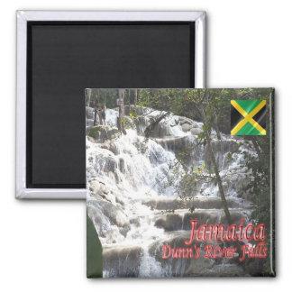 JM - Jamaica - Dunn's River Falls 2 Inch Square Magnet