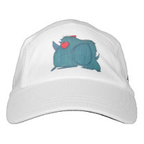 JMCdesign Blue Rhino Baseball Cap