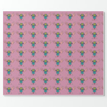 JMCdesign Owl Wrapping Paper