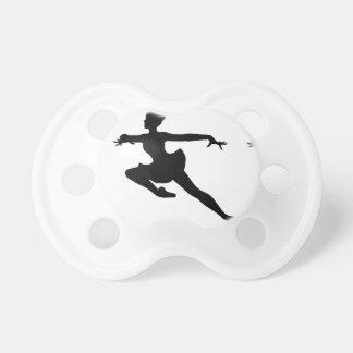 JMO Ballerina Deluxe (Ballet Dancer Silhouette) ~ Pacifier