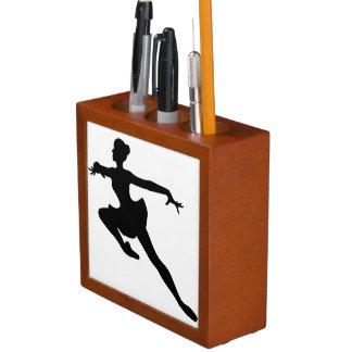 JMO Ballerina Deluxe (Ballet Dancer Silhouette) ~ Pencil Holder