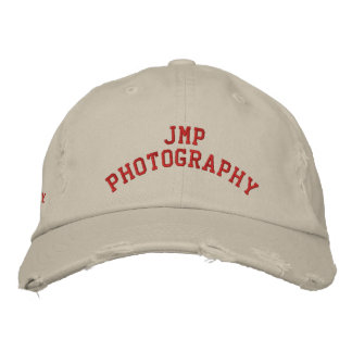 JMP Photography Distressed Twill Cap