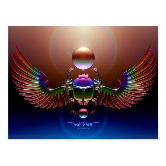 JMR - Escarabajo cristalino Tarjetas Postales