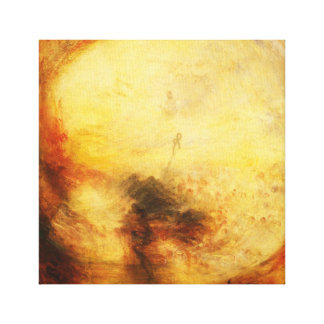 JMW Turner Light and Colour Canvas Print