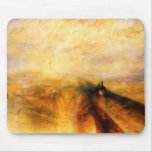 JMW Turner Rain Steam and Speed Mouse Pad