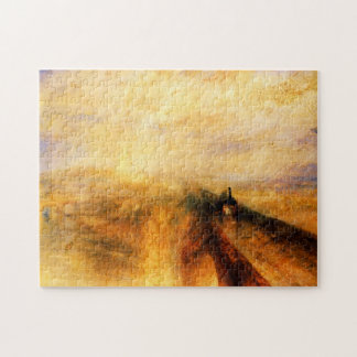 JMW Turner Rain Steam and Speed Puzzle