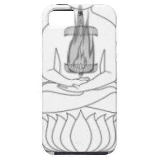 Jnanarnava Meditation Pose with Fire iPhone SE/5/5s Case
