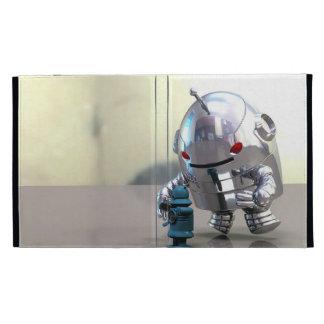 Jo Bot VS Little Blue Bot Caseable Case iPad Cases