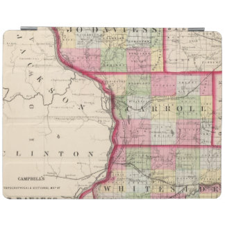 Jo Daviess, Carroll, condados de Whiteside Cover De iPad
