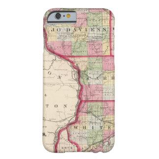 Jo Daviess, Carroll, condados de Whiteside Funda Para iPhone 6 Barely There