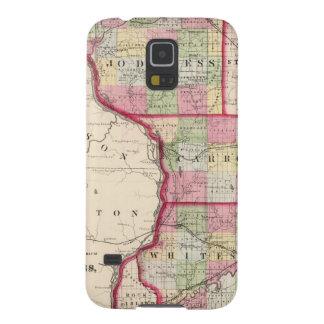 Jo Daviess, Carroll, condados de Whiteside Carcasa Para Galaxy S5